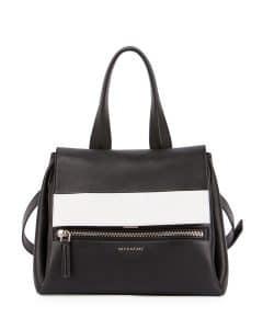 Givenchy Black/White Bi-Color Pandora Pure Bag