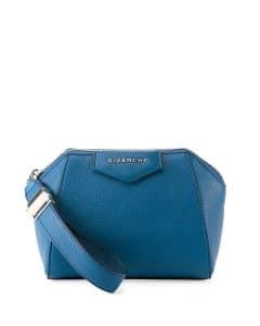 Givenchy Blue Antigona Wristlet Bag