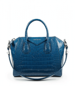 Givenchy Electric Blue Alligator Antigona Small Bag