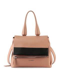 Givenchy Pink/Black Bi-Color Pandora Pure Bag