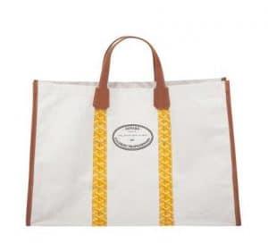 Goyard Yellow Méditerranée Bag 1