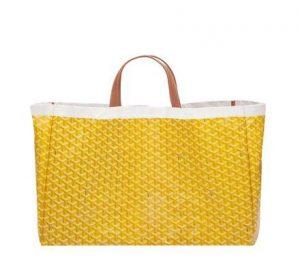 Goyard Yellow Méditerranée Bag 2