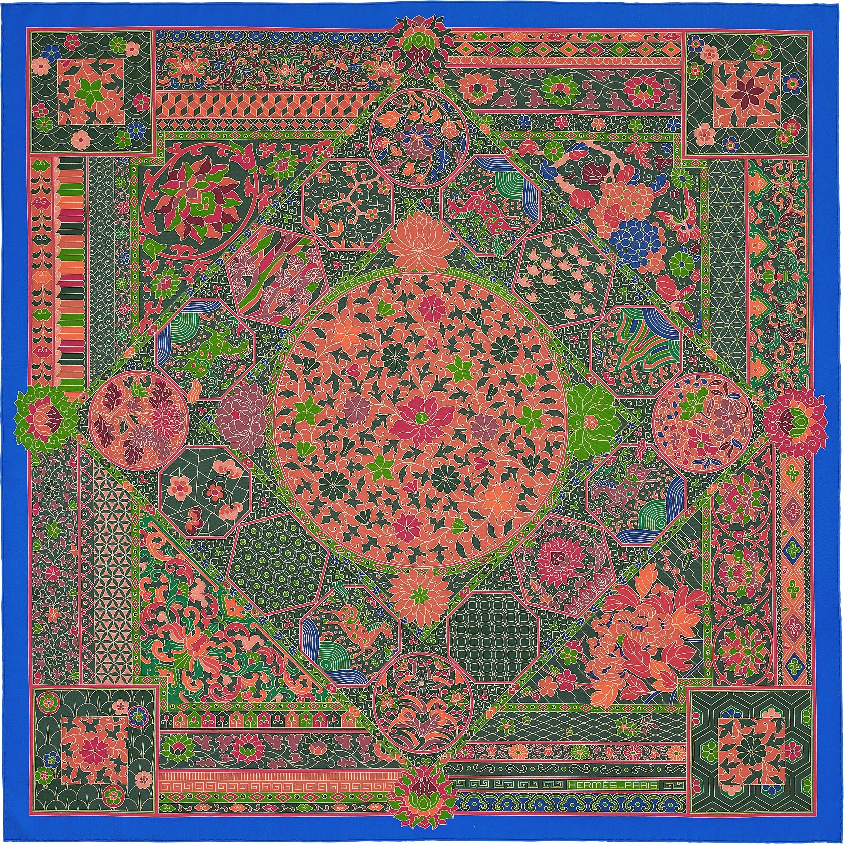Hermes Fall Winter 2015 Scarves Reference Guide