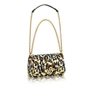 Louis Vuitton Animal Print Go-14 PM Bag