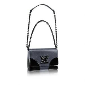 Louis Vuitton Anthracite Nacre Epi Twist MM Bag