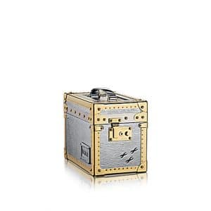 Louis Vuitton Argent Epi Boîte Promenade PM Bag