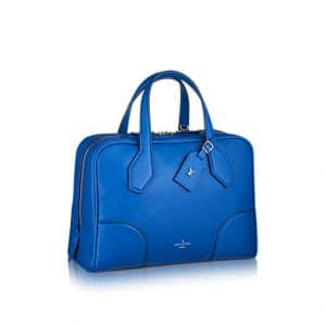 Louis Vuitton Bleu Royal Dora Ultra Soft MM Bag