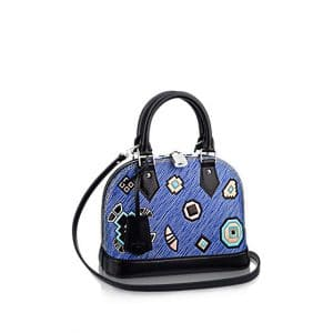 Louis Vuitton Blue Epi Azteque Alma BB Bag