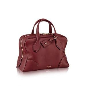 Louis Vuitton Bordeaux Dora Ultra Soft MM Bag