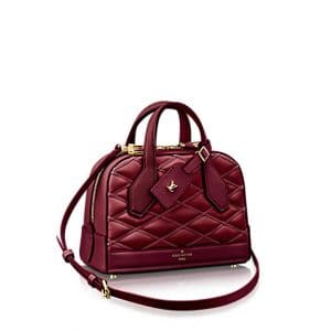 Louis Vuitton Carmine Dora Mini Malletage Bag