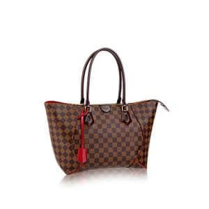 Louis Vuitton Cherry Caissa Damier Ebene Tote MM Bag