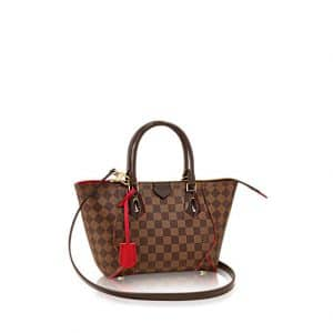Louis Vuitton Cherry Caissa Damier Ebene Tote PM Bag