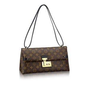 Louis Vuitton Monogram Canvas Sac Triangle PM Bag