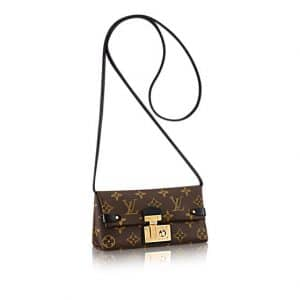 Louis Vuitton Monogram Canvas Triangle Chain Wallet