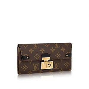 Louis Vuitton Monogram Canvas Triangle Wallet