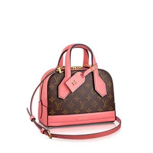 Louis Vuitton Pink Monogram Canvas Dora Mini Bag