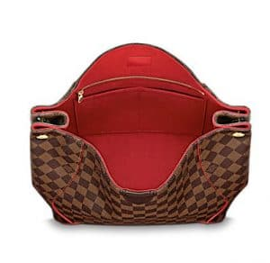 Louis Vuitton Cherry Damier Ebene Caïssa Hobo Bag - Interior