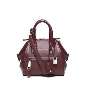Marc Jacobs Aubergine Textured Mini Incognito Bag