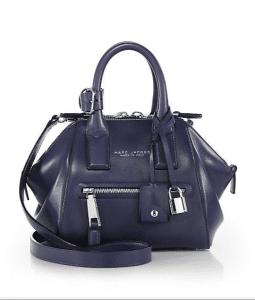 Marc Jacobs Emperor Purple Mini Incognito Bag