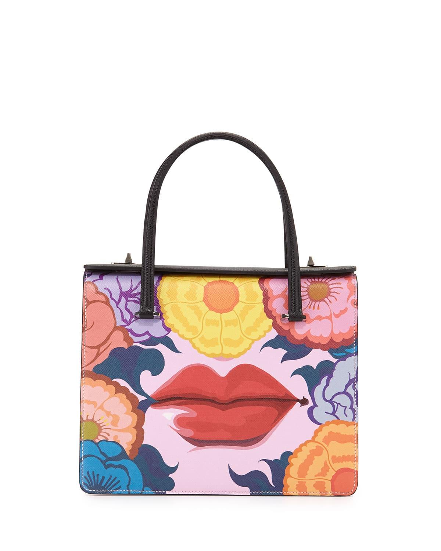 prada multicolor handbags
