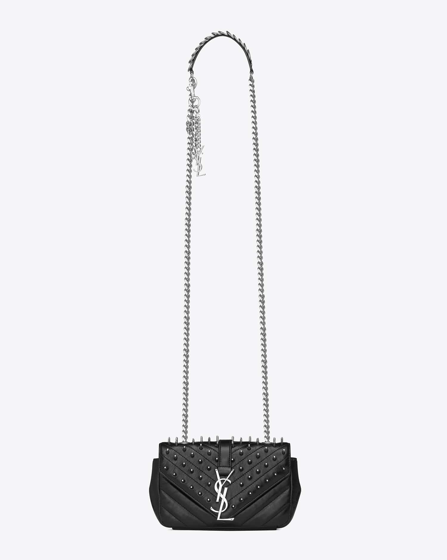 eb568082532 cheap ysl bags uk - Saint Laurent Fall/Winter 2015 Bag Collection Featuring  Punk Chain ...