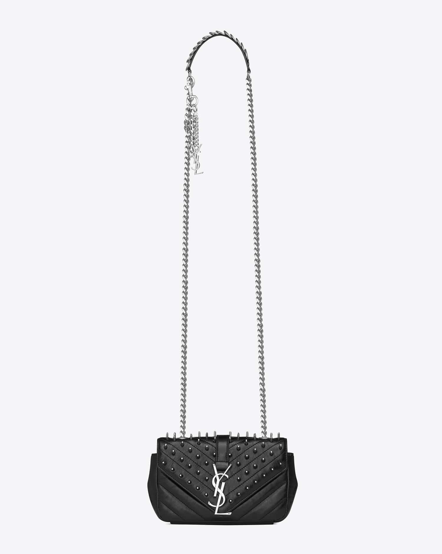 Saint Laurent Fall Winter 2015 Bag Collection Featuring Punk Chain ... a4ba41d7c4338