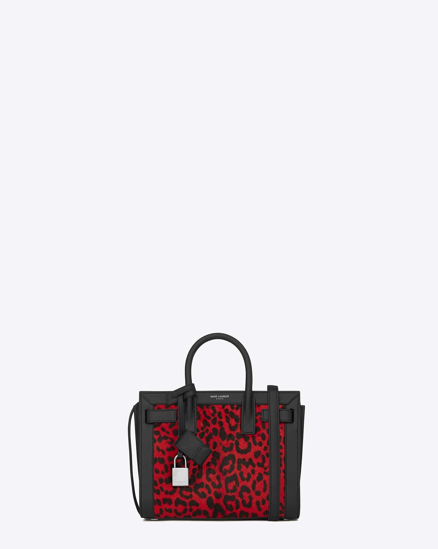 Sac De Jour Toy Satchel Bag, Red
