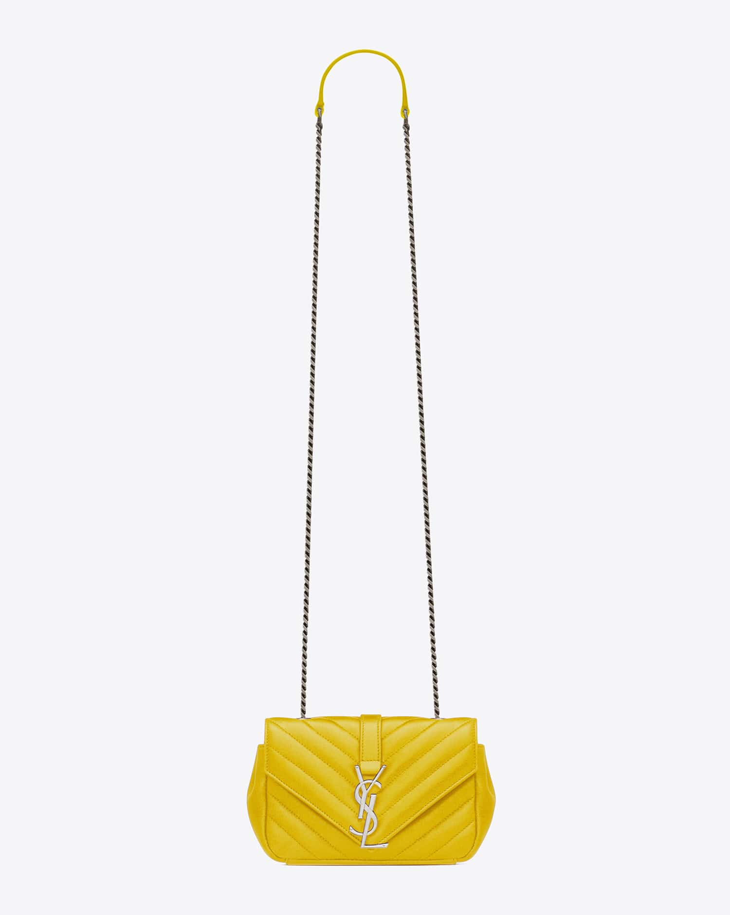 db5942a547a Saint Laurent Fall/Winter 2015 Bag Collection Featuring Punk Chain ...