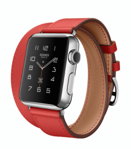 Apple Capucine Double Tour Hermes Watch