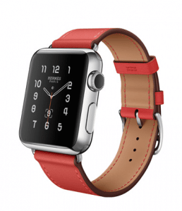 Apple Capucine Single Tour Hermes Watch 38mm