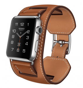 Apple Fauve Barenia Cuff Hermes Watch