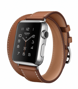 Apple Fauve Barenia Double Tour Hermes Watch