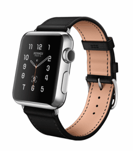 Apple Noir Single Tour Hermes Watch 38mm