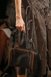 Bottega Veneta Black Camera Bag - Spring 2016