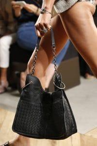Bottega Veneta Black Intrecciato Tote Bag - Spring 2016