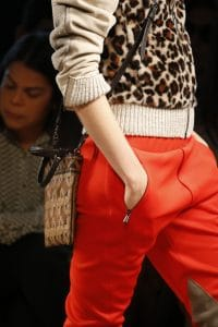 Bottega Veneta Brown/Beige Patchwork Exotic Skin Crossbody Bag 2 - Spring 2016