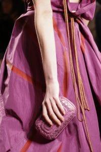 Bottega Veneta Pink Ayers Knot Clutch Bag - Spring 2016