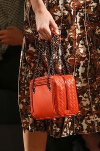 Bottega Veneta Red Camera Bag - Spring 2016