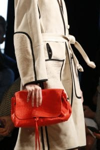 Bottega Veneta Red Crocodile Clutch Bag 2 - Spring 2016
