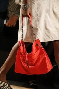 Bottega Veneta Red Intrecciato Tote Bag - Spring 2016