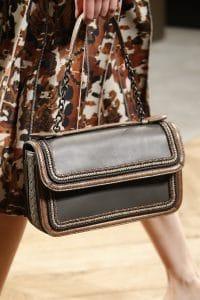 Bottega Veneta Brown Flap Bag - Spring 2016