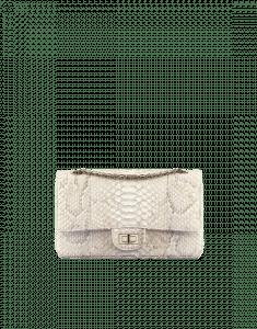 Chanel Beige Python 2.55 Reissue 225 Flap Bag