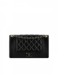 Chanel Black Mademoiselle Vintage Flap Bag
