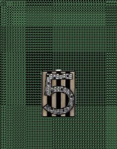 Chanel Black/Gold No. 5 Plexiglass Minaudiere Bag