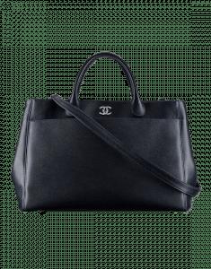 Chanel Blue Calfskin Large Shopping Bag