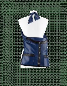 Chanel Blue/Black Girl Chanel Large Bag
