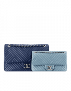 Chanel Blue/Light Blue CC Crossing Flap Large/Small Bags