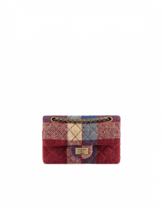Chanel Multicolor Wool 2.55 Reissue 224 Flap Bag