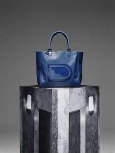 Delvaux Bleu de Prusse Louise Satchel Bags