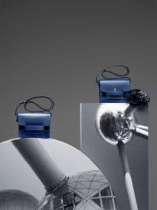 Delvaux Bleu de Prusse Madame Mini Bags